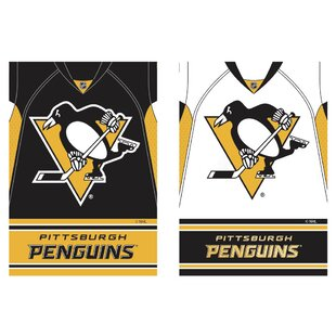 NHL DS Suede Foil Regular Jersey Polyester 3'7 x 2'5 ft. Banner (Set of 2) By Evergreen Enterprises, Inc