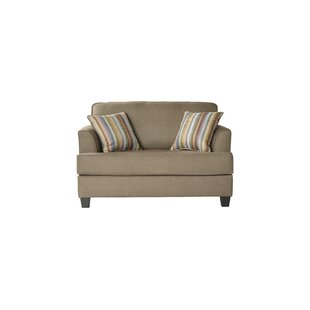Compare prices Perlman Sleeper Loveseat by Ebern Designs Reviews (2019) & Buyer's Guide