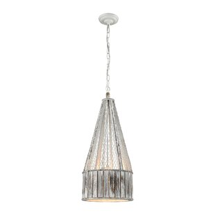 Mistana Gilbert 1-Light Cone Pendant
