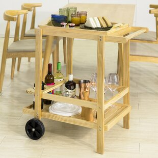 Kilbourn Serving Cart By 17 Stories