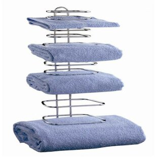 Wildon Home ® Four Guest Wall Mounted Towel Rack