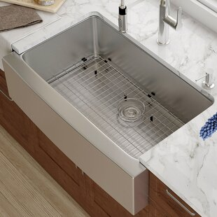 Farmhouse Sink With Backsplash | Wayfair