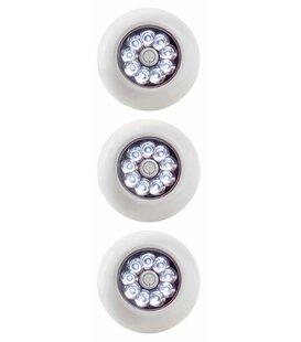 Light It! Anywhere LED 9 Light Step Light (Set of 3)
