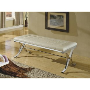 Kellam Metal Frame Metal Bench by Mercer41