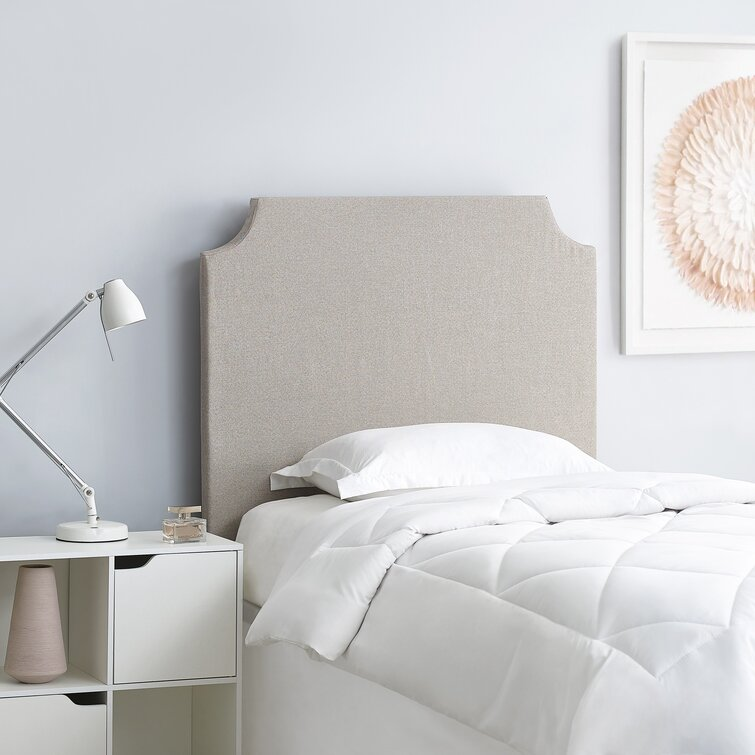 DIY Headboard - College Bedding Upholstered Panel Headboard
