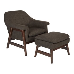 Wilber Lounge Chair and Ottoman