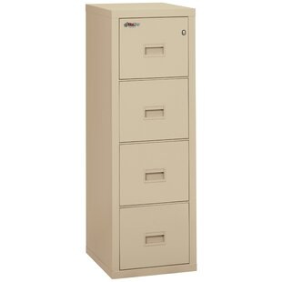FireKing Turtle Fireproof 4-Drawer Vertical File Cabinet