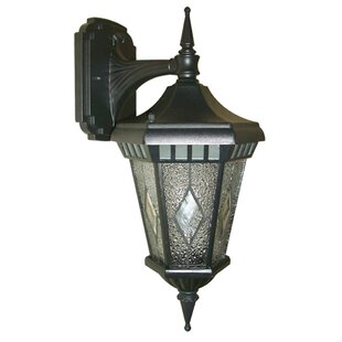 Read Reviews Verbier 1-Light Outdoor Wall Lantern By Beldi