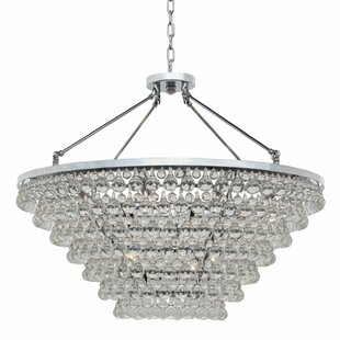 Fabrice 15-Light Crystal Chandelier ByWilla Arlo Interiors