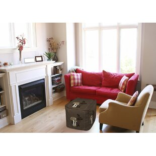 Luxury Lodge Rabbit Pouf by Manual Woodworkers & Weavers