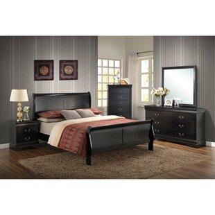 Sahil Sleigh Configurable Bedroom Set