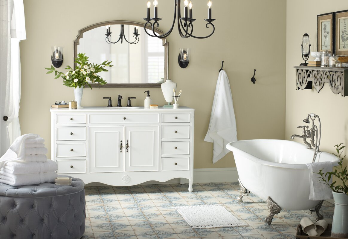 French Country Bathroom Design Photo By