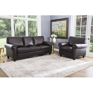 Best Reviews Bella Vista 2 Piece Leather Living Room Set by Three Posts Reviews (2019) & Buyer's Guide