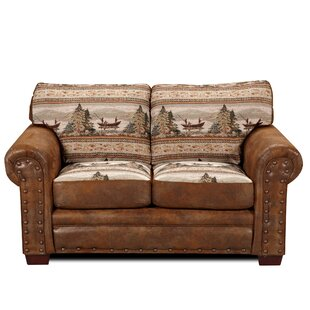 Sale Charlie Alpine Loveseat Millwood Pines