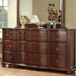 Costanoan 9 Drawer Dresser by Astoria Grand Comparison