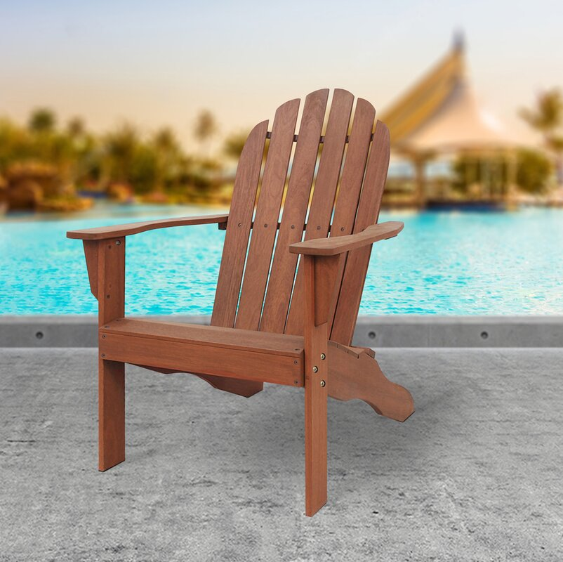 Fordyce Solid Wood Adirondack Chair