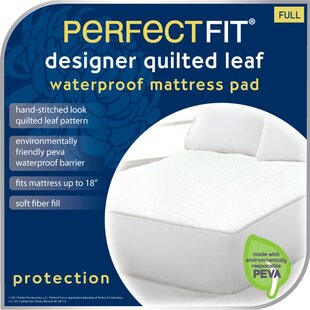 Perfect Fit Leaf Mattress Pad