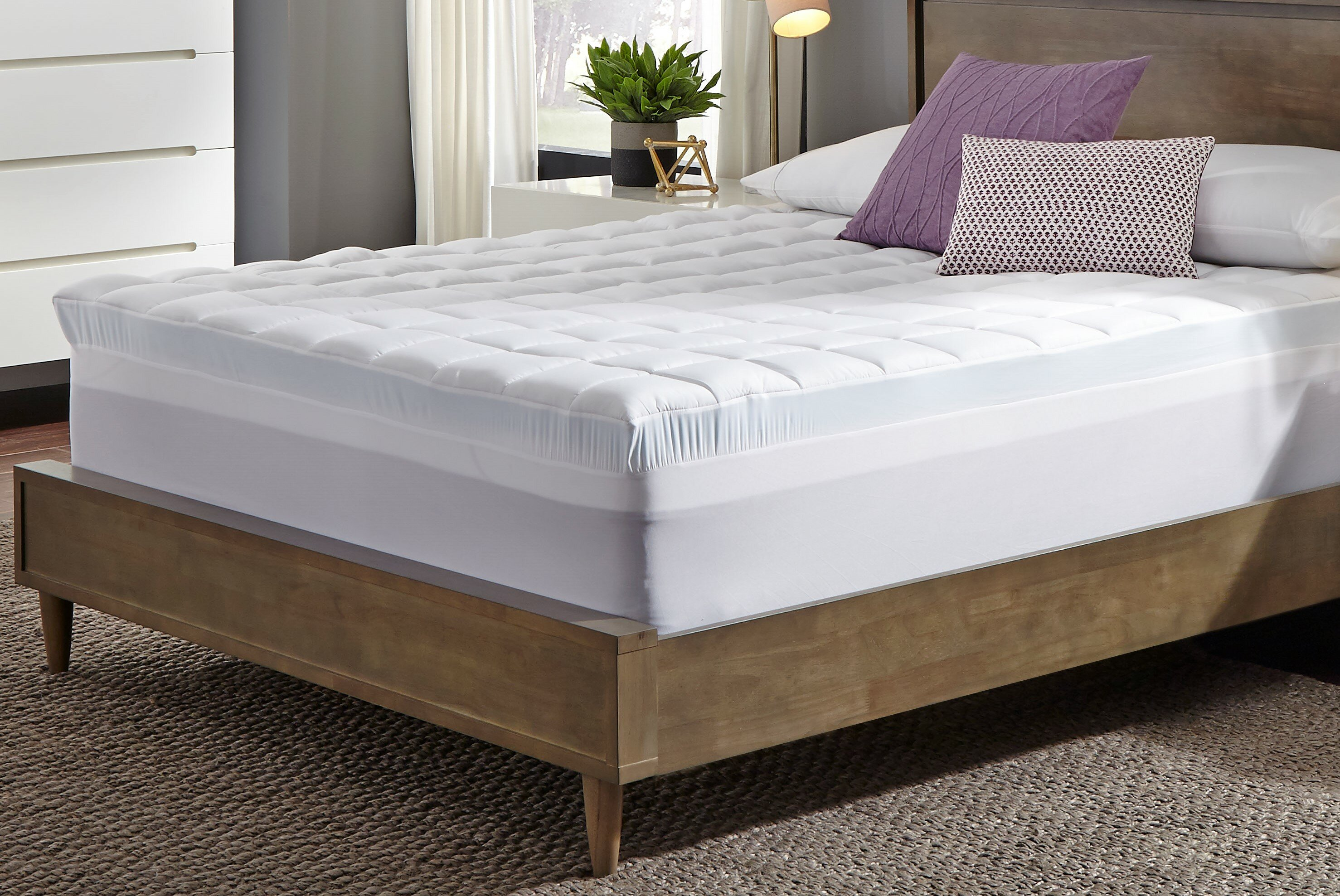 Memory Foam Mattress Topper.Sarah 3 5 Gel Memory Foam Mattress Topper