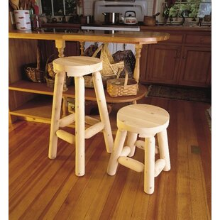 Loon Peak Ontiveros 2 Piece Bar Stool Set