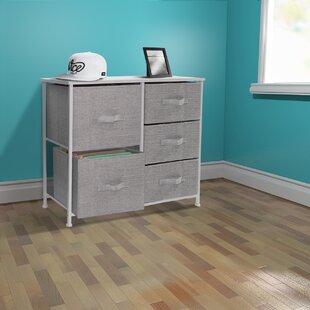 Best Review Tab 5 Drawer Dresser by Winston Porter