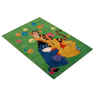 Loire Green Area Rug by House Additions
