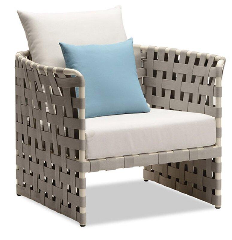 100 Essentials Loft Single Sofa with Cushions