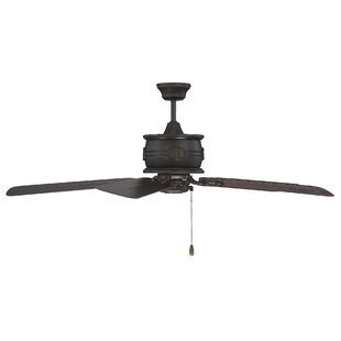 Affordable 52 Dowler 5-Blade Outdoor Ceiling Fan By Gracie Oaks