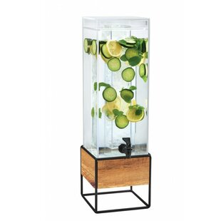 Madera 384 Oz. Infusion Chamber Beverage Dispenser by Cal-Mil Best Choices