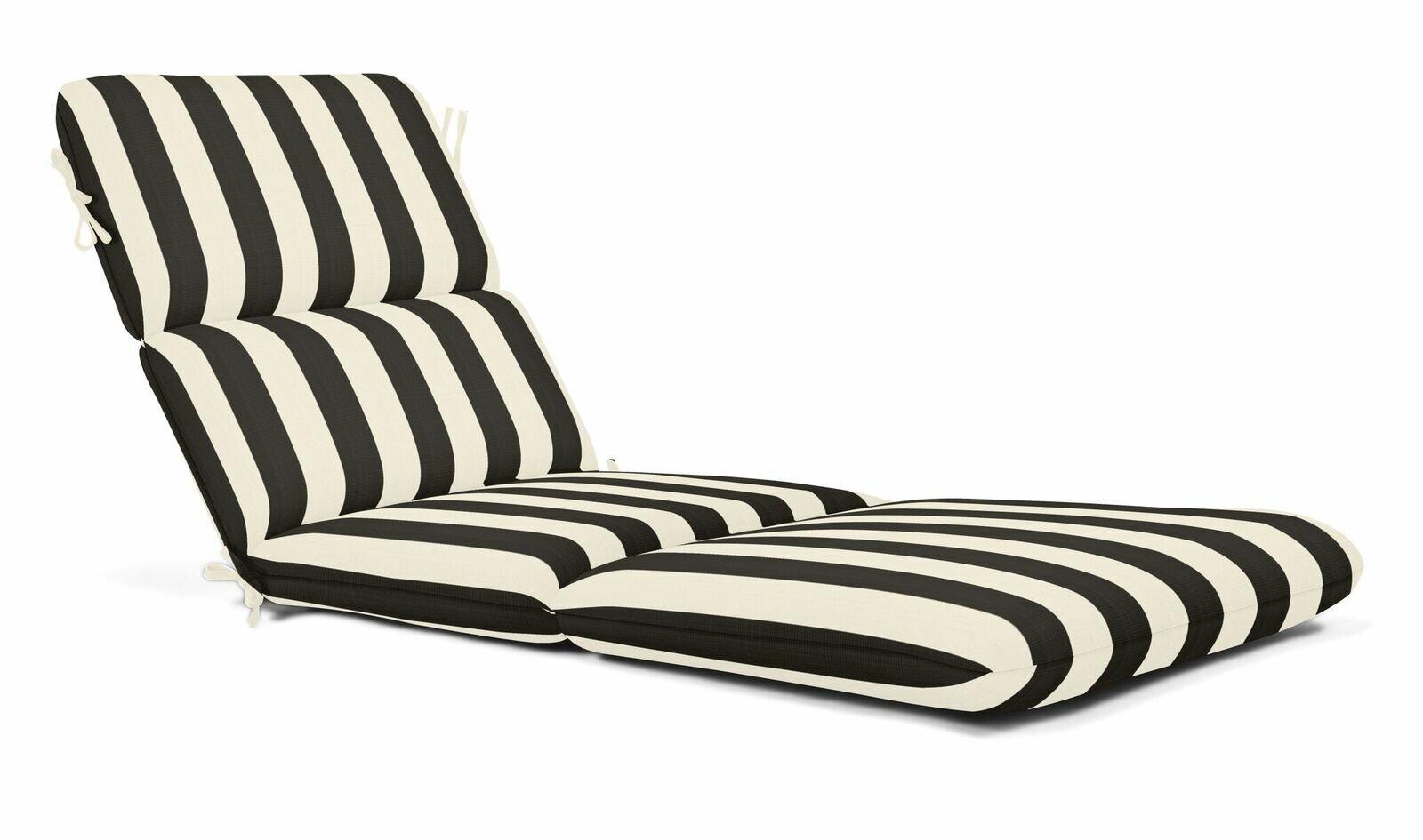 Indoor Outdoor Sunbrella Chaise Lounge Cushion