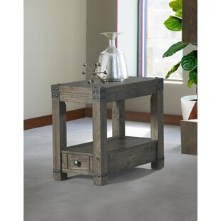Josephine End Table by 17 Stories