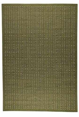 Red Barrel Studio Hoeft Striped Handmade Green Area Rug Wayfair