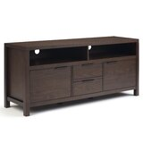 Mcadams Solid Wood TV Stand for TVs up to 65 by Millwood Pines