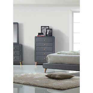 Best Deals Cleitus 5 Drawer Chest by Corrigan Studio