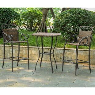 Stapleton 3 Piece Bar Height Dining Set