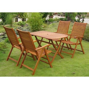 Sabbattus Vendrell 5 Piece Dining Set by ..