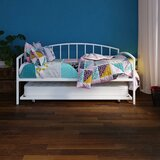 Mahala Metal Twin Daybed with Trundle by Red Barrel Studio®