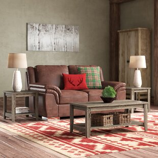 Balderston 3 Piece Coffee Table Set Laurel Foundry Modern Farmhouse