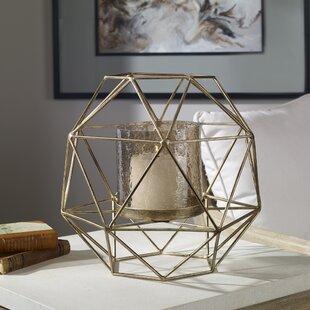 Geometric Iron Lantern