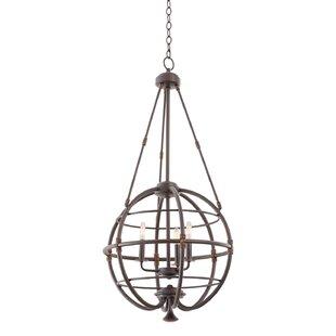 Kalco Larson 3-Light Globe Chandelier