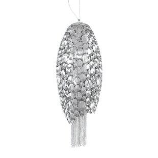 Orren Ellis Galnares 2-Light Cone Pendant