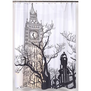 Big Ben Single Shower Curtain