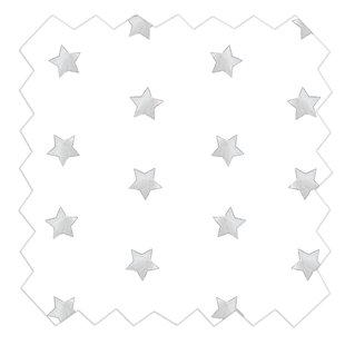 Muslin Star Fitted Crib Sheet By Living Textiles Baby