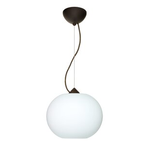 Besa Lighting Luna 1-Light Globe Pendant