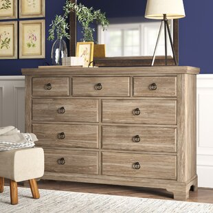 Calila 9 Drawer Standard Dresser Chest