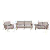 Askas 3 Piece Living Room Set by Latitude Run®