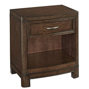 Home Styles Crescent Hill 1 Drawer Nightstand
