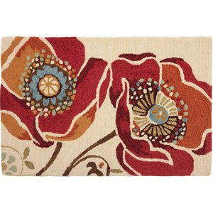 Dellroy Red Area Rug