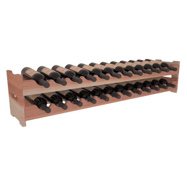 Red Barrel Studio Karnes Scalloped 24 Bottle Tabletop Wine Bottle Rack Wayfair