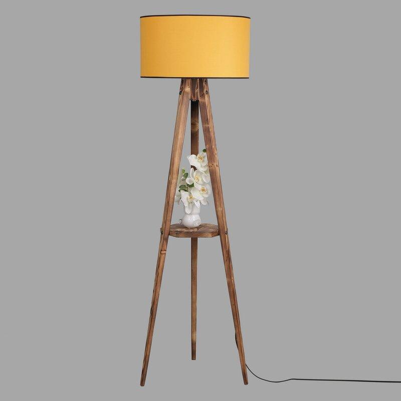 Ebern Designs Lubitsch 153cm Tray Table