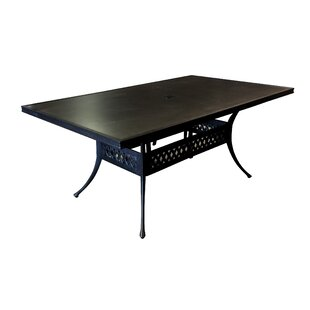 Aube Outdoor Aluminum Dining Table